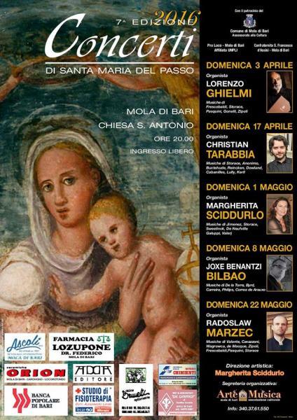 Concerti di Santa Maria del Passo - VII edizione