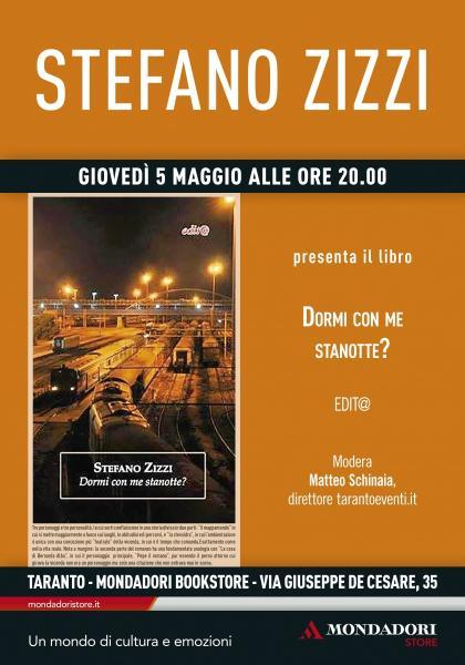 Incontro con l'autore Stefano Zizzi