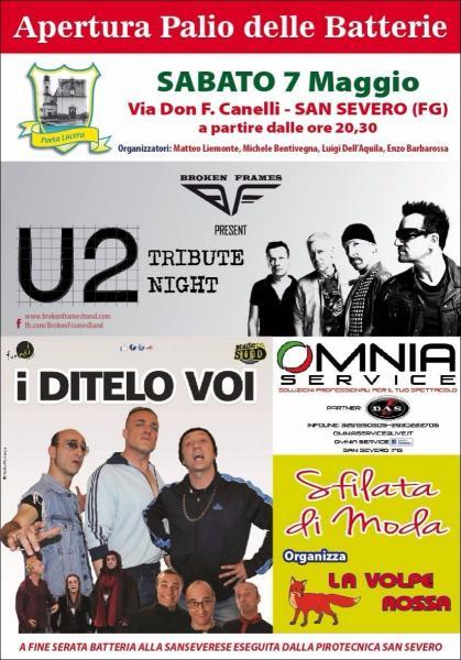 U2 TRIBUTE NIGHT by Broken Frames & I DITELO VOI from MADE IN SUD