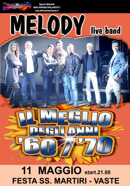 MELODY BAND '60'70 live concert