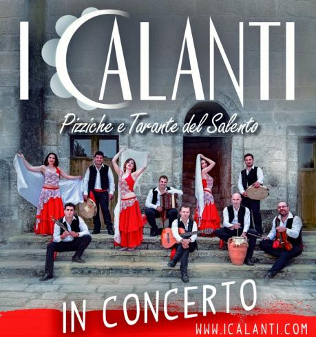 I CALANTI pizzica live tour 2016