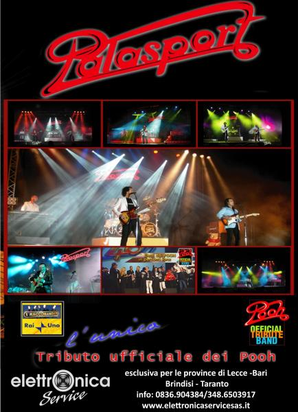 Palasport Official Tribute Band Pooh live Concert
