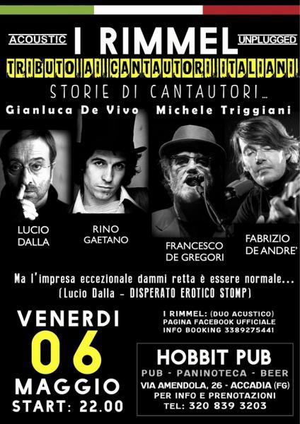 I Rimmel: Tributo ai cantautori italiani