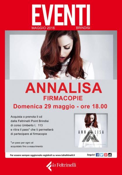 Firmacopie con Annalisa