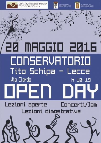 Open Day Del Conservatorio Lecce Il Tacco Di Bacco