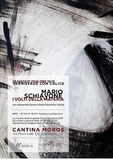 """""""I volti della materia"""" personale di Mario Schiavone, Vernissage con Calice"""