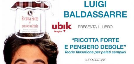 Luigi Baldassarre alla Libreria Ubik di Maglie