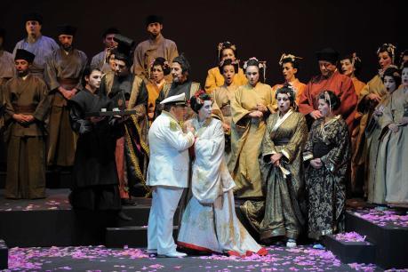Madama Butterfly di Giacomo Puccini. Sul podio il M° Carmine Pinto