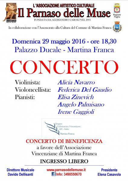 CONCERTO Per Violino, Violoncello e Pianoforte