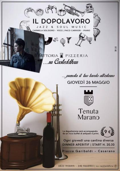 Carmy Electric Duo live a Su Casteddhu di Casarano