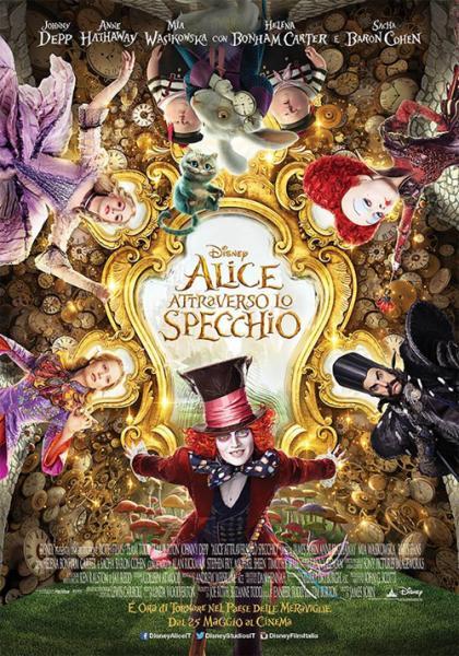 Alice Attraverso lo Specchio - in 2d