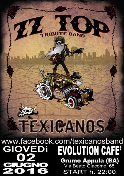 ZZ TOP Tribute Night  con i Texicanos