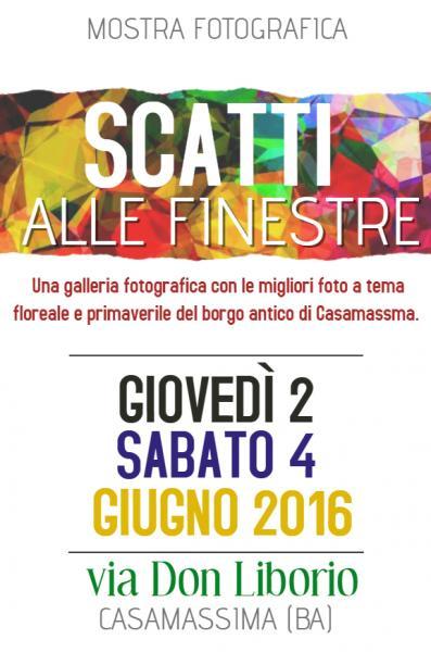 """Mostra Fotografica """"Scatti alle Finestre 2.0"""" - Balcone Fiorito"""