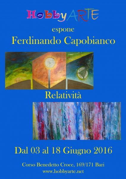 Mostra Personale Del Maestro Ferdinando Capobianco