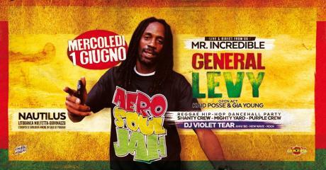 General Levy live concert