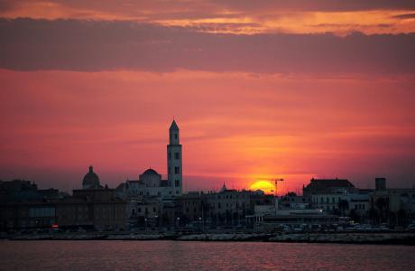 bari lungomare tramonto az - photo#19