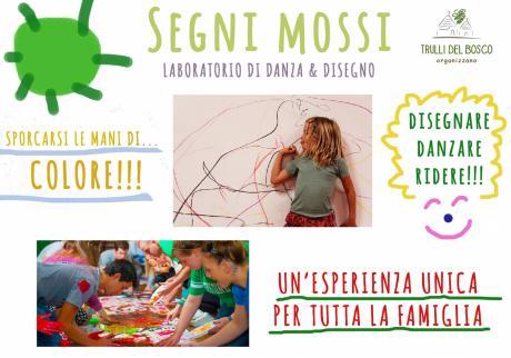 Segni Mossi - laboratorio di danza e disegno