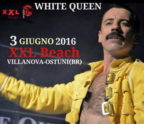 White Queen in Concerto at Xxl Beach Cafè // Venerdì 3 Giugno 2016