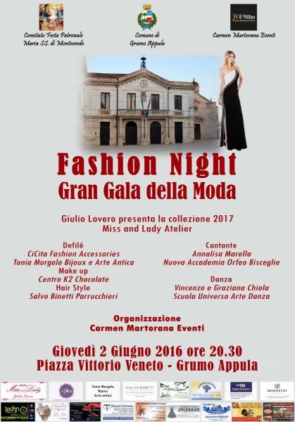 Fashion Night - Gran Gala della Moda
