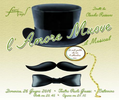 """""""L'Amore muove, il musical"""" diretto da Claudio Russano"""