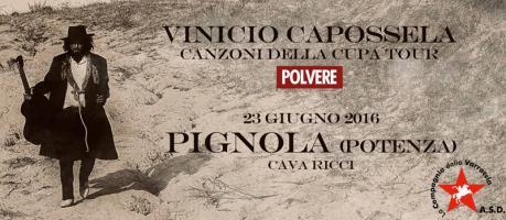 "Vinicio Capossela - Data ""zero"" del Tour ""Polvere"" [Percorsi DiVersi 2016 - Pignola]"