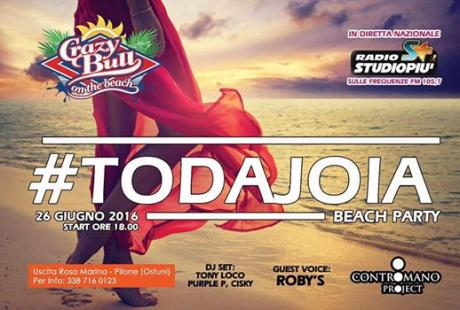#todajoia Beach Party Crazy Bull