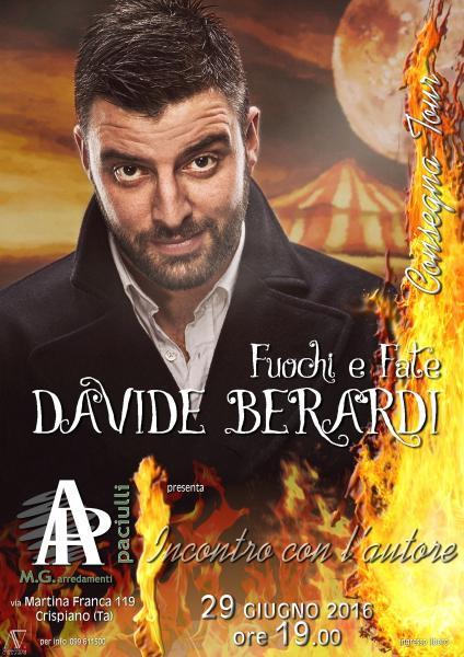"""Consegna tour """"Fuochi e Fate"""" - Incontro con l'autore Davide Berardi"""