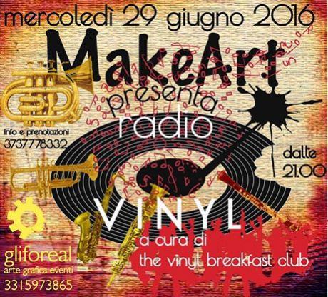 Mercoledì 29.06 // Radio Vinyl - Street Edition w The Vinyl Breakfast Club