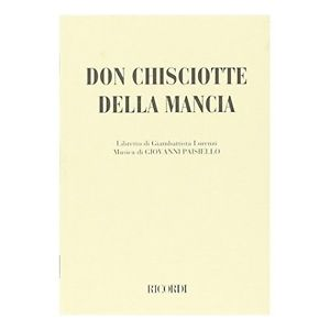 42° Festival della Valle d'Itria - Don Chiosciotte della Mancia di Giovanni Paisiello