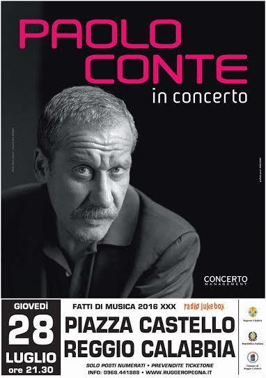 Fatti di Musica presenta Paolo Conte International Tour 2016