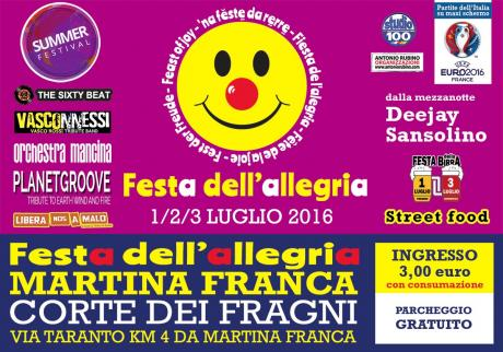 Festa dell'Allegria (Summer Festival)