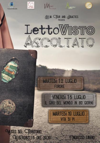 """Rassegna """"LettoVistoAscoltato"""""""