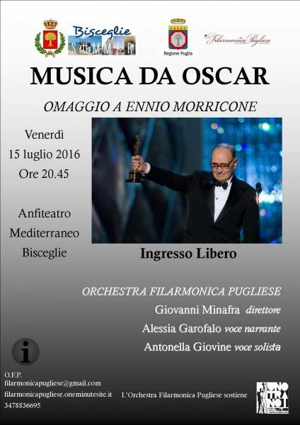 MUSICA DA OSCAR - Omaggio a Ennio Morricone