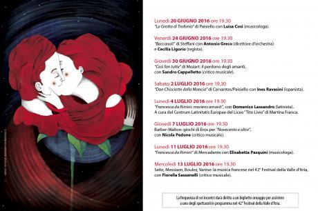 """""""Francesca da Rimini: moriens amavit""""- coversazione con il liceo Tito Livio e Domenico Lassandro"""