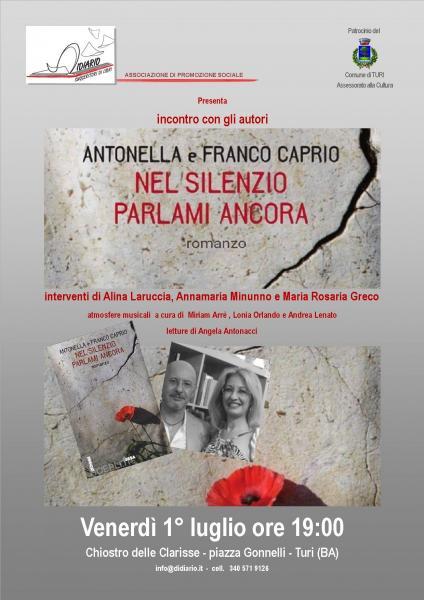 Nel silenzio parlami ancora - Il nuovo libro di Antonella e Franco Caprio