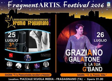 """FragmentARTIS.  Festival 2016 - sagra """"ti la puccia fritta"""""""