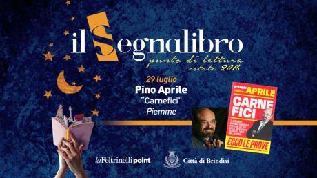 "Pino Aprile presenta ""Carnefici"" ed. Piemme"