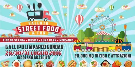 Salento Street Food And Fun dal 29 al 31 luglio cibo di strada, musica e lunapark
