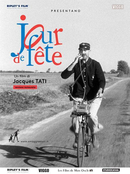 GIORNO DI FESTA di J. TATI in edizione restaurata