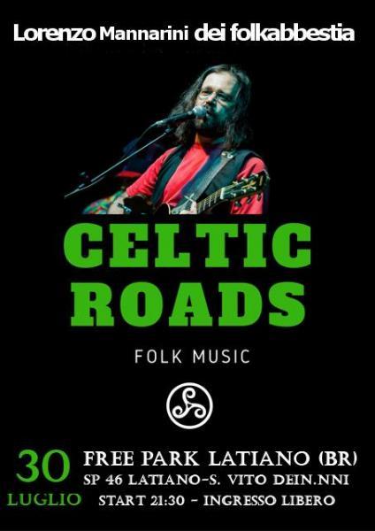 Lorenzo Mannarini Dei Folkabbestia con il Suon Progetto Celtic Roads