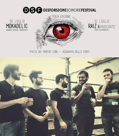 """Distorsioni Sonore Festival - Mokadelic (colonna sonora """"Gomorra"""" la serie)"""