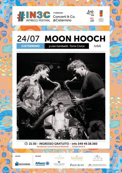 Moon Hooch in Concerto