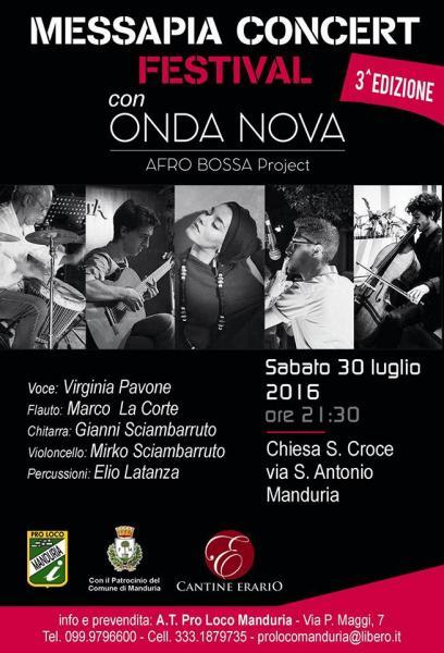 ONDA NOVA Afro Bossa Project - Messapia Concert Festival