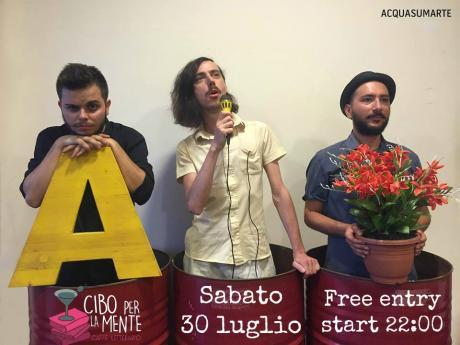 ACQUASUMARTE live Cibo Per La Mente