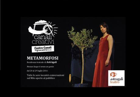 Metamorfosi. Residenza teatrale e conversazioni sul mito
