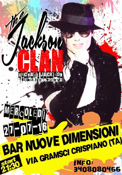 The Jackson Clan live al Bar Nuove Dimensioni - Crispiano (TA)