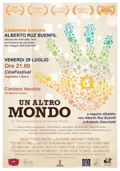 Cisternino incontra ALBERTO RUZ BUENFIL + Proiezione di UN ALTRO MONDO
