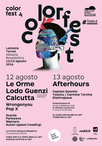 Color Fest IV Edizione