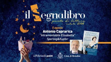 "Antonio Caprarica presenta ""Intramontabile Elisabetta"" ed. Sperling&Kupfer"