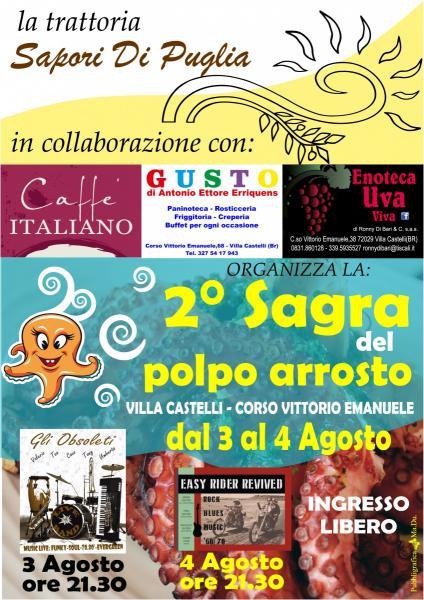 Sagra Del Polpo Villa Castelli